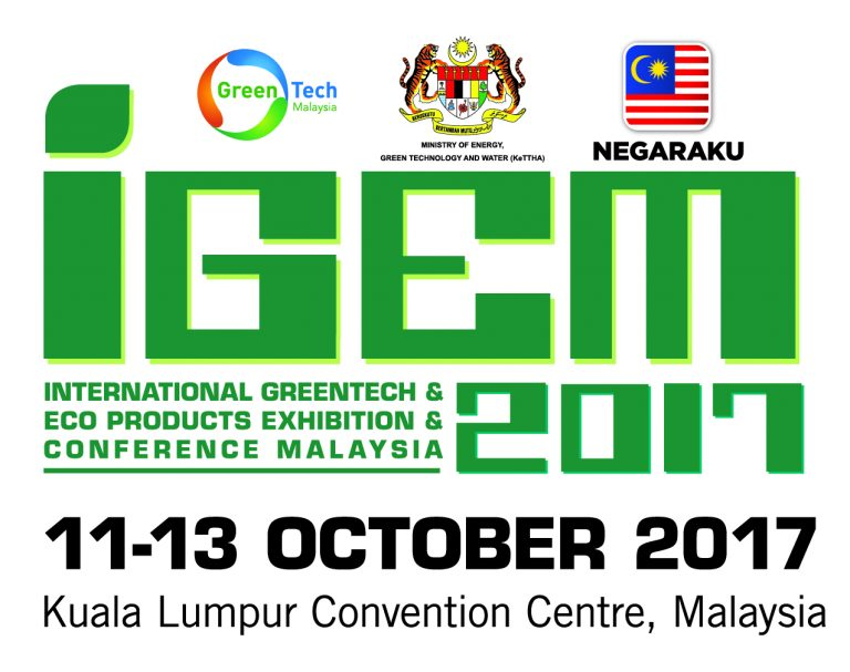 IGEM 2017: International Greentech & Eco Products Exhibition & Conference Malaysia